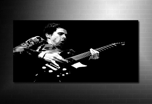 matt bellamy canvas art print, muse wall art, muse canvas, matt bellamy print, matt bellamy canvas