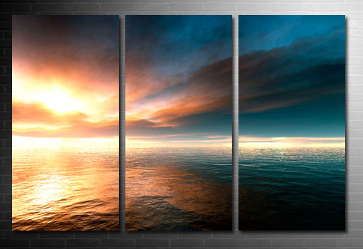 modern seascape art, seascape canvas picture, seascape wall art
