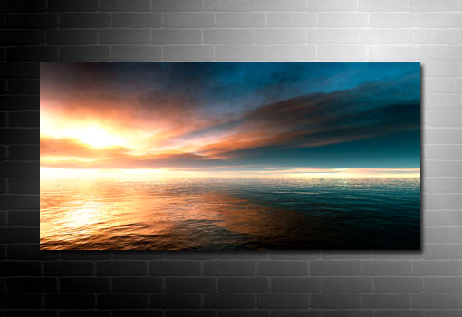 landscape canvas print, modern seascape art, seascape art prints