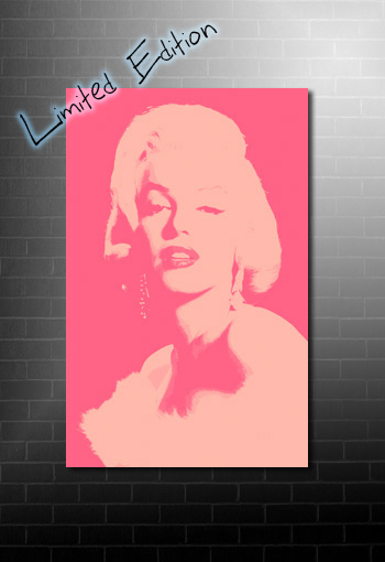 Marilyn Monroe Canvas, Marilyn Monroe wall art, Marilyn Monroe art, Marilyn Monroe print, Marilyn Monroe limited edition print