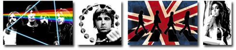music inspired canvas art, music wall art, music canvas prints, canvas art prints uk, oasis canvas art, canvas art