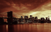 New York Canvas prints, Manhattan Skyline Art