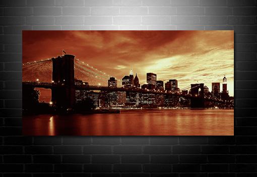 Cityscape canvas art, cityscape canvas print