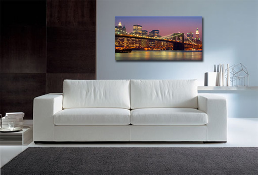 brooklyn bridge art print, manhattan bridge canvas art
