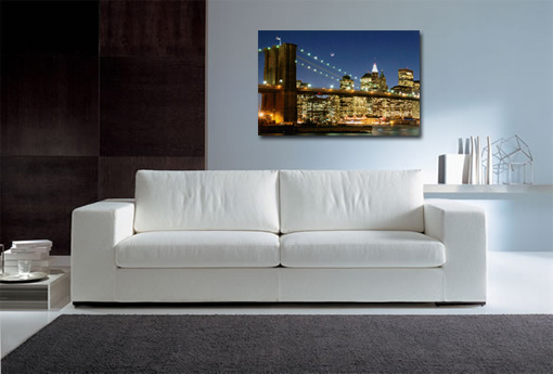 new york city canvas, new york wall art