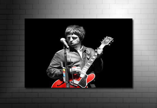 noel and liam gallagher canvas, noel gallagher wall art, noel gallagher print, canvas art uk, noel gallagher canvas picture, large noel gallagher canvas