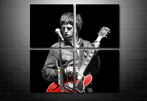 large noel gallagher wall art, oasis canvas print, noel gallagher wall art, noel gallagher print