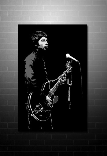 noel gallagher canvas print, oasis canvas print, noel gallagher canvas picture, music canvas art uk, noel gallagher pop art, noel gallagher print