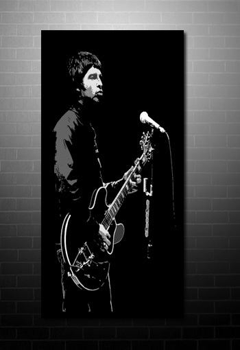 noel gallagher canvas pop art, oasis canvas print, noel gallagher canvas picture, music canvas art uk, noel gallagher pop art, noel gallagher wall art