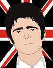 noel gallagher opie style canvas, oasis pop art, noel gallagher pop art, noel galagher canvas, noel gallagher wall art