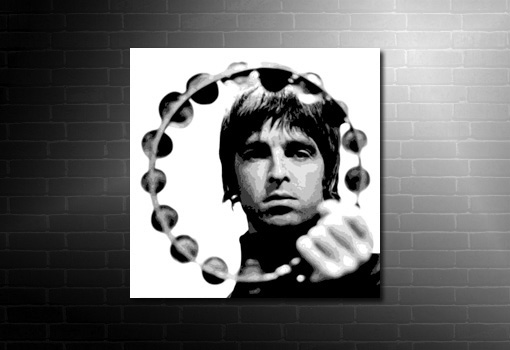 noel gallagher canvas wall art print, noel gallagher print, noel gallagher canvas picture, music canvas art uk, music canvas prints uk