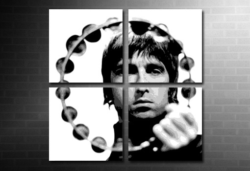 noel gallagher large canvas art, noel gallagher print, canvas art cheap uk, liam gallagher canvas art, music canvas prints uk, canvas art uk, noel gallagher tambourine