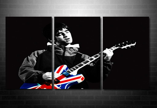 noel gallagher union jack wall art, noel gallagher canvas picture, noel gallagher canvas, noel gallagher print, oasis canvas print