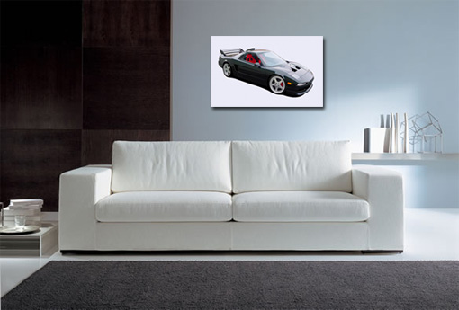ferrari fine art, porsche art, photo on canvas, art ferrari, lamborghini art