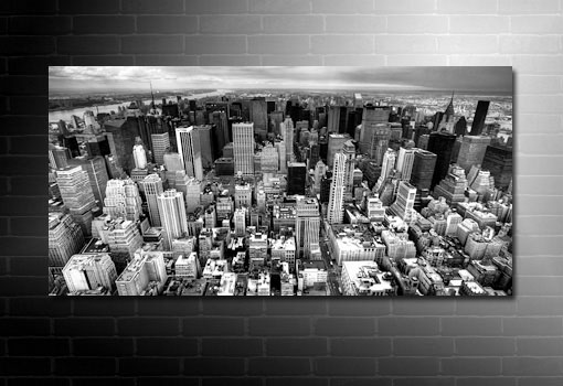 New york canvas prints manhattan skyline art