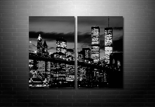 New york Cityscape Canvas, New York Skyline Canvas