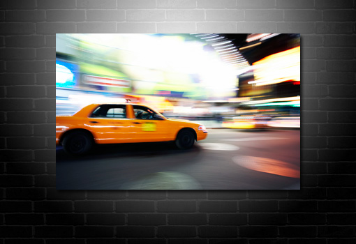 New York Taxi print, New York Taxi canvas