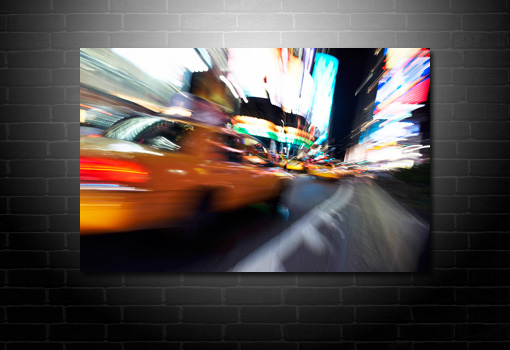 New York Taxi print, New York Taxi canvas art