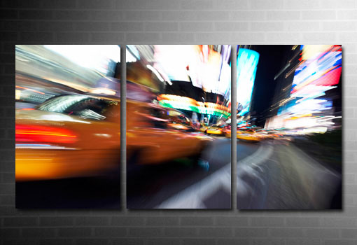 New York Taxi print, New York Taxi canvas print