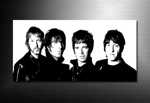 noel and liam gallagher canvas, liam gallagher art print, noel gallagher print, noel gallagher canvas art