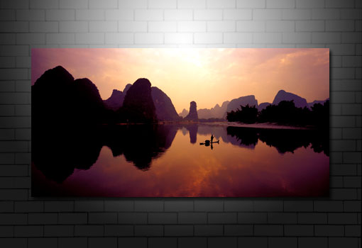 landscape art prints, digital landscape art
