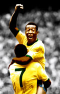 Pele Canvas Art Print, Football World Cup Canvas, Pele Canvas Print, Football Wall Art