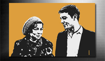 photo on canvas pop art, pop art photo on canvas