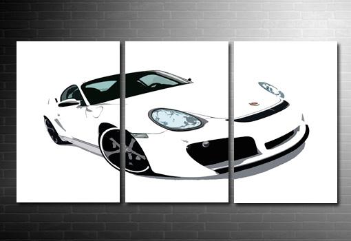 Porsche Canvas Print, Porsche Canvas Art Print, Porsche Wall Art