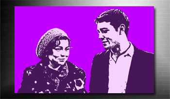 photo on canvas service andy warhol style, my photo on canvas free service