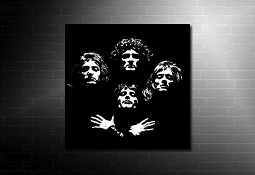 Queen pop art, queen canvas print, queen canvas, music canvas prints, music canvases