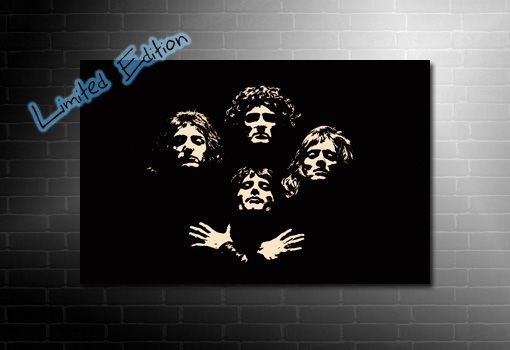 Bohemian Rhapsody canvas, queen band canvas print, canvas art prints uk, music canvases