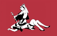 queen vic canvas print, queen vic canvas, banksy queen vic, banksy canvas art prints, banksy prints uk
