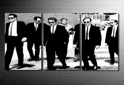 Reservoir Dogs canvas art, Reservoir Dogs pop art, Reservoir Dogs wall art, Reservoir Dogs movie art, Reservoir Dogs canvas print