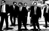 reservoir dogs movie art, reservoir dogs wall art, tarantino framed art, ganster art
