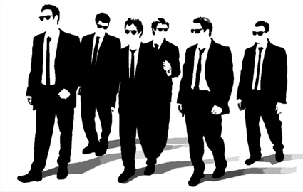 reservoir dogs canvas art, reservior dogs wall art