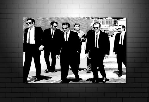 Reservoir Dogs Print, Reservoir Dogs pop art, Reservoir Dogs wall art, Reservoir Dogs movie art, Reservoir Dogs canvas print