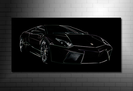 Lamborghini Reventon Canvas, Lamborghini wall art, lamborghini canvas art