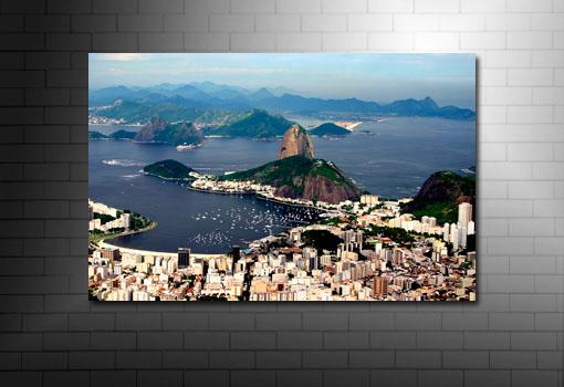 Rio De Janeiro Canvas Art, Rio De Janeiro Canvas print