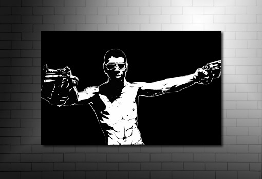 Rock n Rolla Canvas Print, guy ritchie movie art, rock n rolla movie art, gangster movie canvas, movie canvas art