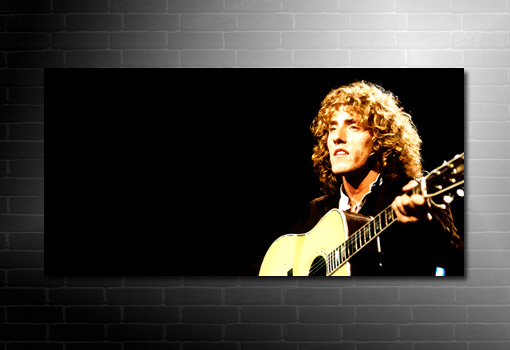 Roger Daltrey Canvas Art, The Who Canvas, The Who Wall Art, Roger Daltrey Art
