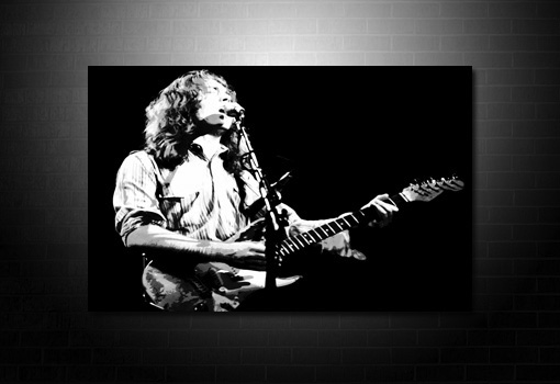 rory gallagher canvas print, rory gallagher pop art, rory gallagher wall art. rory gallagher music print, canvas art uk