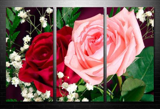 art print floral, abstract art flower, digital art floral