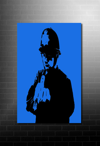 Banksy rude copper canvas pop art, Banksy rude copper, banksy prints, canvas art banksy, banksy art uk