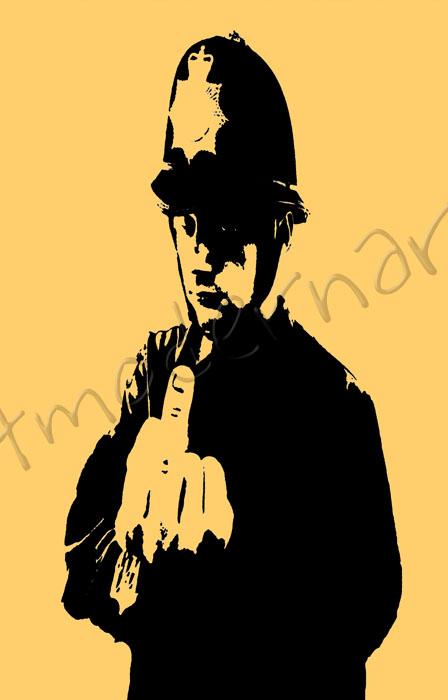 Banksy Canvas Art, SmartModernArt Banksy Collection