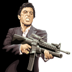 tony montana canvas art print, tony montana canvas art, scarafce print, scarface print, tony montana wall art, movie canvas uk