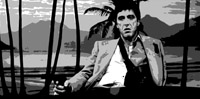 scarface canvas art, scarfcae canvas sale