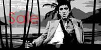 scarface movie print, scarface canvas, scarface wall art, scarface movie art, wall art uk
