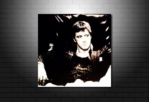 Scarface Canvas Art, scarface movie print, scarface canvas print, al pacino canvas, scarfacemovie canvas