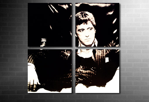 scarface wall art, scarface movie art print, scarface canvas, scarface movie print, scarface movie canvas