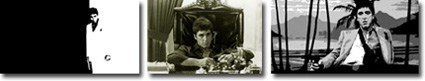 scarface canvas art, scarface canvas prints, movie wall art, gangster art, canvas art uk
